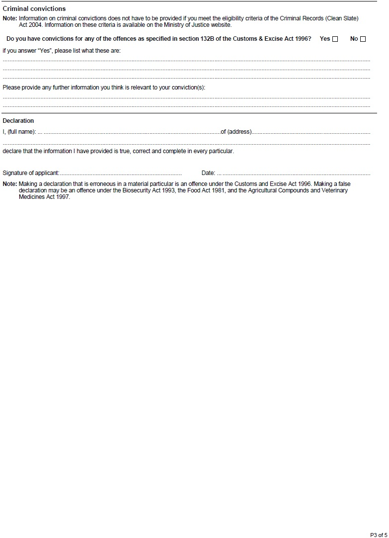 Customs application for jbms user registration rules 2017 2017 form c10 page 3 aiddatafo Choice Image