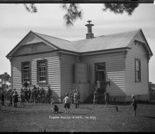 Pokeno Valley School, Pokeno. Ref: 1/2-000119-G, Alexander Turnbull Library